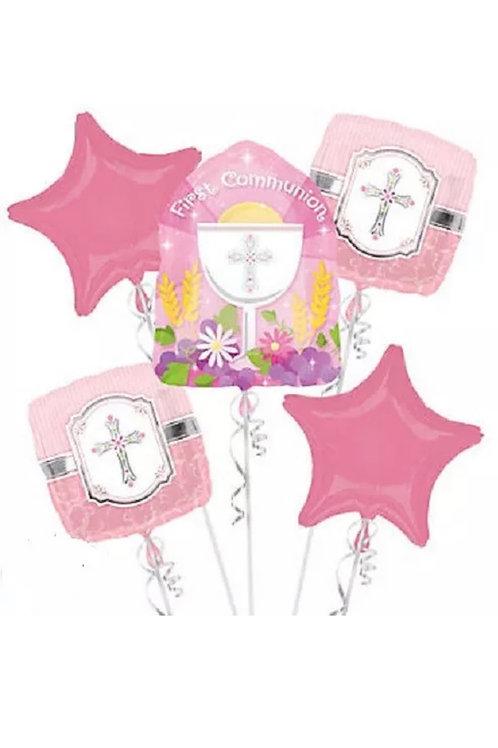 First Communion Pink Bouquet 1