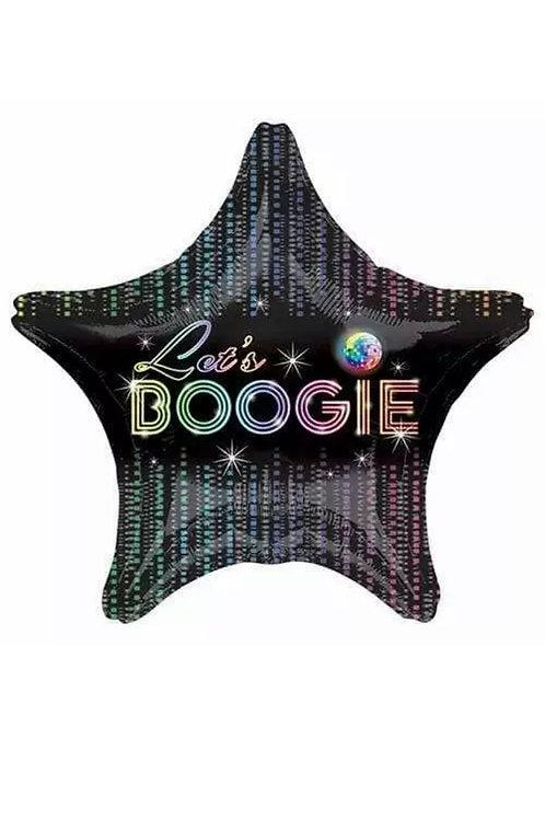 "Let's Boogie Disco Fever 18"" Star (188)"