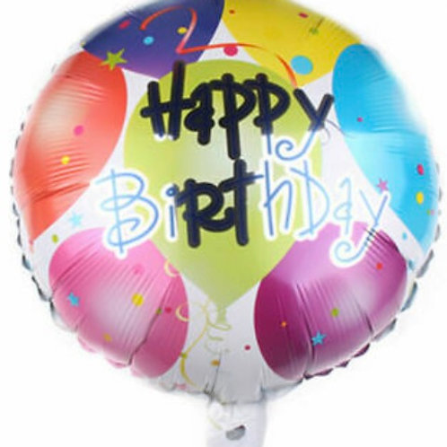 "18"" Happy Birthday Bash Balloon"