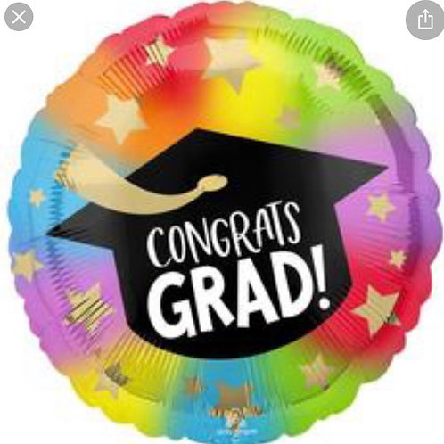 Colorful Congrats Grad