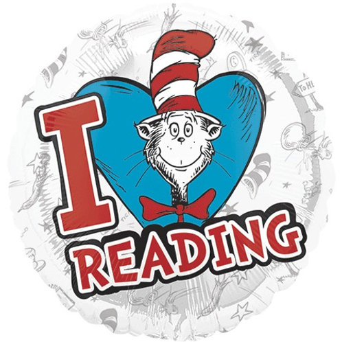 """Dr. Seuss Hats of to Reading 18"""""""