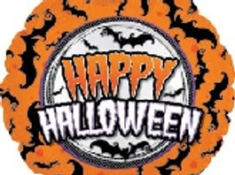 """18"""" Happy Halloween Balloon"""