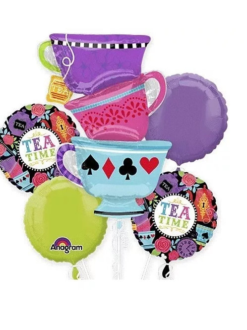 Alice in Wonderland Teapot Tea Time Bouquet