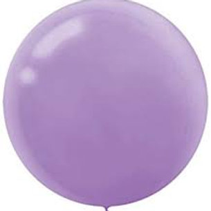 "24"" Lavender Latex Balloon"
