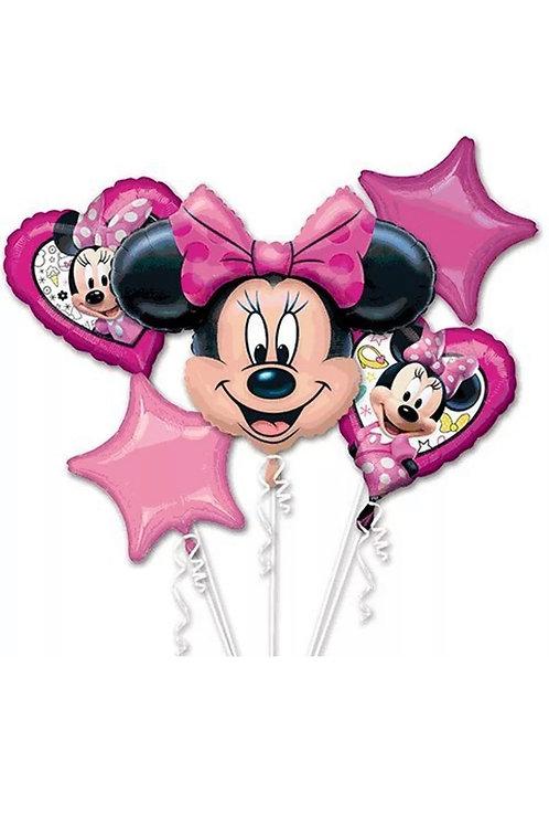 Pink Minnie Mouse Bouquet