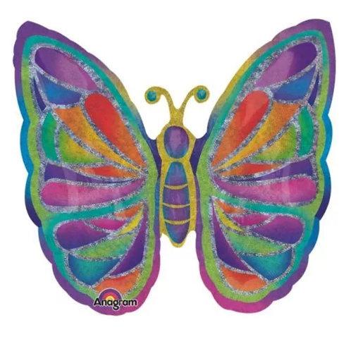 "25"" Butterfly sparkle Balloon 139"
