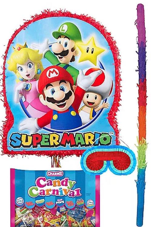 Super Mario Prefilled Pinata