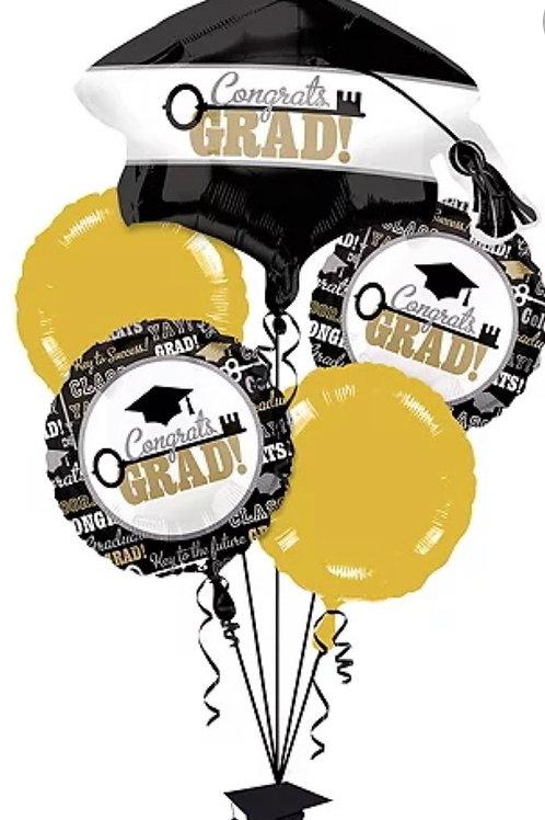 Key to Success Balloon Bouquet