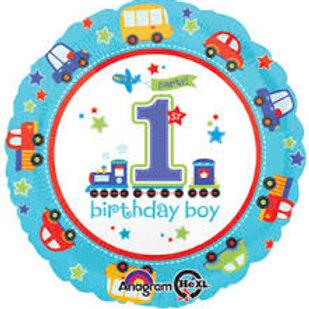 "18"" First Bday Balloon"