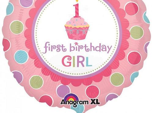 """First birthday girl 18"""""""
