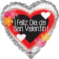 "18"" Feliz Dia de San Valentin"