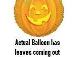 """26"""" Jumbo Pumpkin Balloon"""