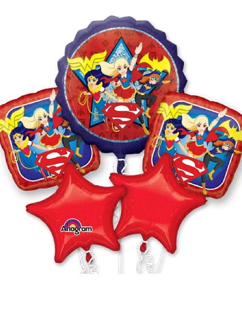 DC Super Hero Girls Mylar Bouquet