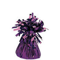 Purple Foil Balloon Weight 6oz