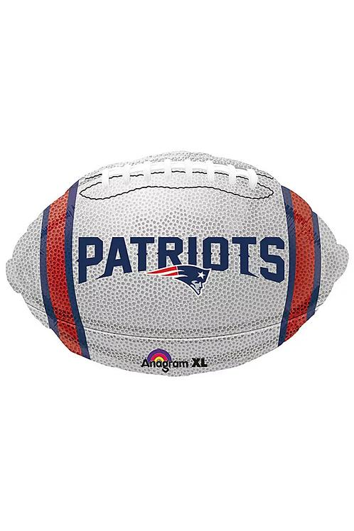 "New England Patriots Football 17""x21"""
