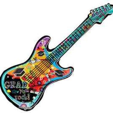 "Grad You Rock! Guitar 39"" Mylar"