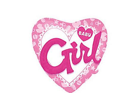 Girl Baby Shower Balloon 3D