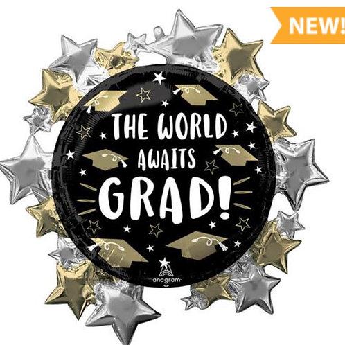 The World Awaits  Grad Balloon