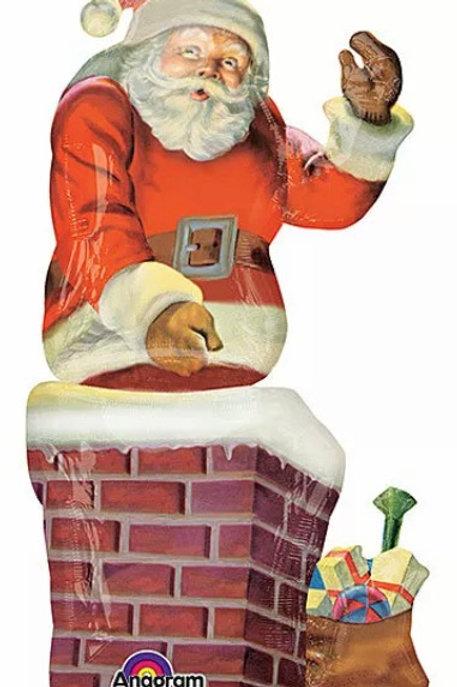"Santa Clause 53"" Mylar"