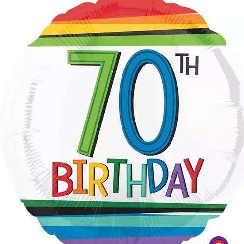 70th Birthday Balloon 236
