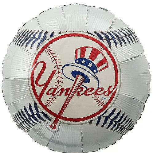 """18"""" Yankees Mylar Balloon"""