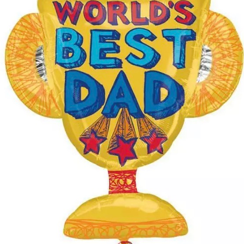 Trophy Fathers day Balloon