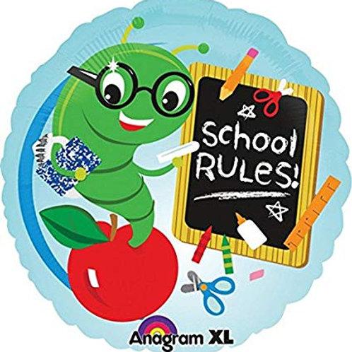 "School Rules 18"" Mylar 179"