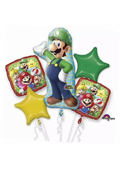 Luigi Super Mario Bouquet