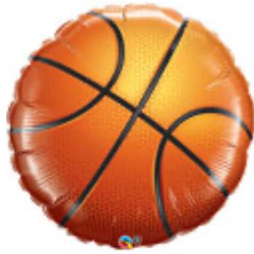 "Basketball 18"" Mylar"