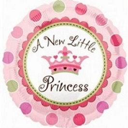 """18""""  a New Little Princess Balloon"""