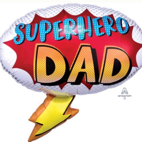 Super Hero Dad Balloon