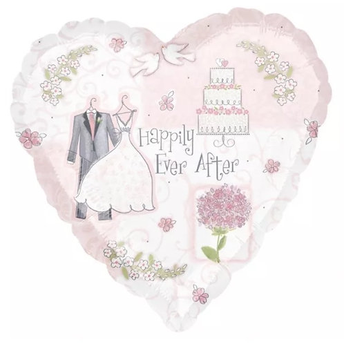"18"" Happily Ever After Balloon"