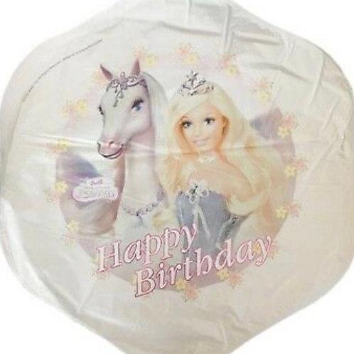 Barbie Pegasus Mylar Balloon