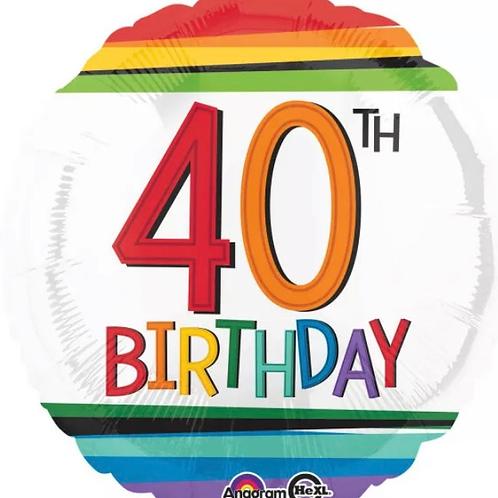 40th Birthday Balloon 235