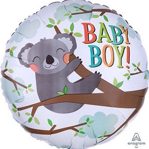 "Baby Koala Boy 18"" Mylar"