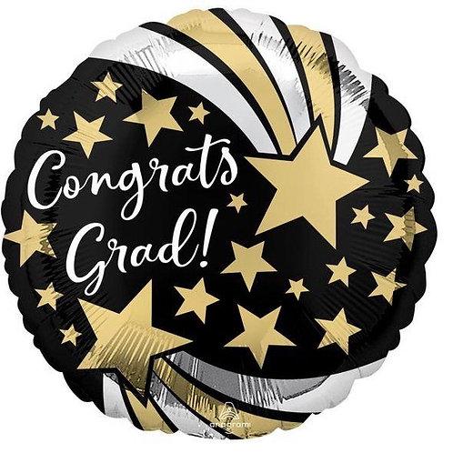 "18"" Congrats Shooting Stars"