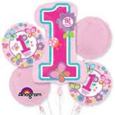 1st B-day Balloon Bouquet