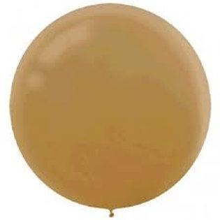 "24"" Gold Latex Balloons"