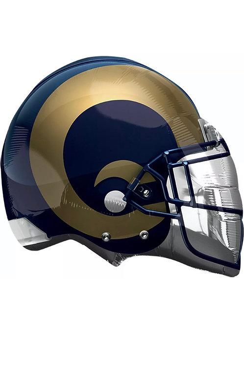 "Los Angeles Rams Football Helmet 21""x17"""