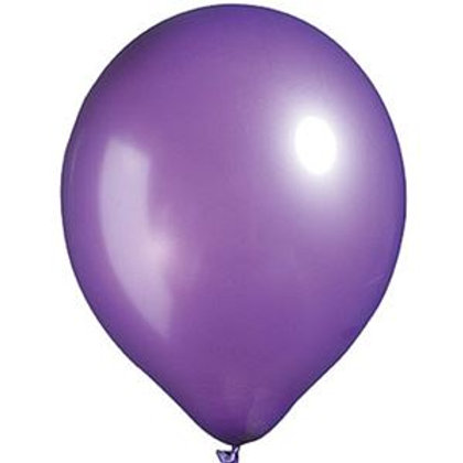 "12"" New Purple Latex Balloon"