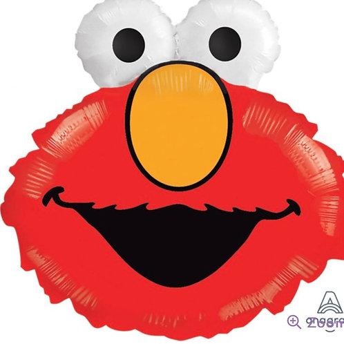 Elmo Head Balloon