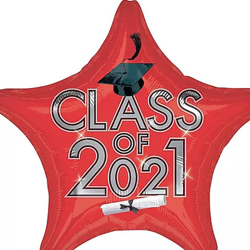 Red Class of 2021 Star