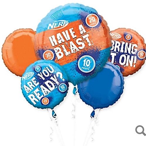 Nerf Balloon Bouquet 5pc