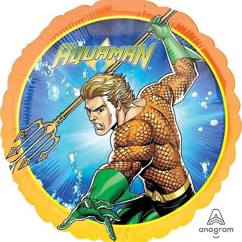 """Aqua Man 17"""" Mylar"""