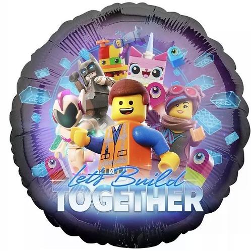 """Lego Movie 18"""" Mylar"""