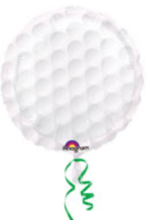 "Golf Ball 18"" Mylar"