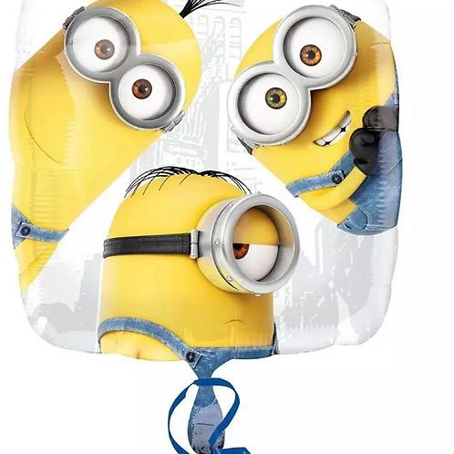 """Despicable Me Minions Stuart Mylar Foil Balloon 18""""  206"""