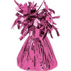 Bright Pink Foil Balloon Weight 6oz