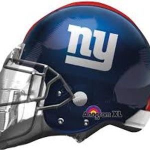 NY Giants Helmet Balloon
