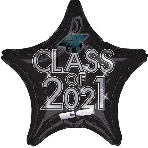Black Class of 2021 Star